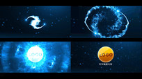粒子LOGO演绎视频