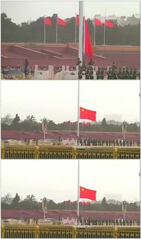 天安门升国旗视频