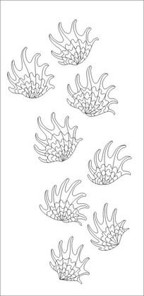 仙人掌雕刻图案