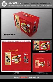 红色海鲜礼品箱 AI
