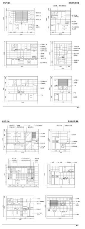 橱柜设计CAD图纸