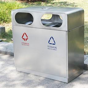 大号不锈钢垃圾桶 JPG