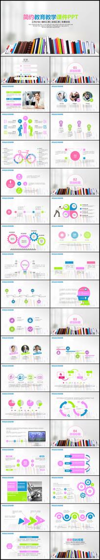 教学课件设计教育PPT模板