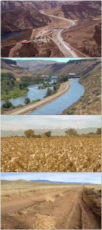 农业干旱灾害视频