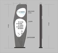 停车场导视牌设计