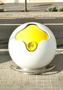 圆形创意垃圾桶 JPG
