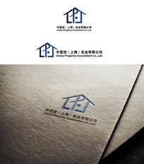 创意房子变形logo