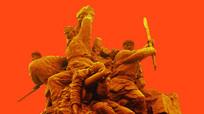 抗战雕塑激战