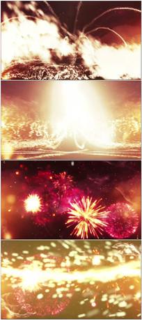 炫酷粒子舞台背景视频