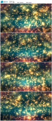 绚丽粒子星空LED大屏背景视频