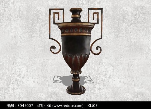中式古典奖杯图片