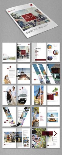个性旅游画册设计