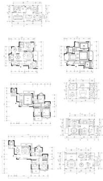 家居装饰平面图