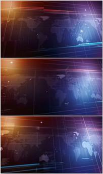 新闻演播室动态背景视频