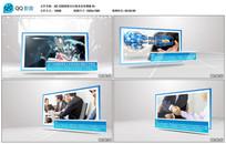 AE CS6清新洁白商务宣传模板