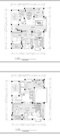 别墅家居平面图