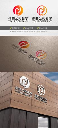 cj字母变形企业logo
