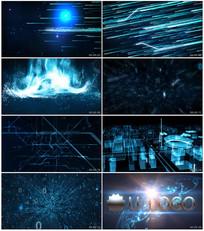 科技化时代演绎企业LOGO模版