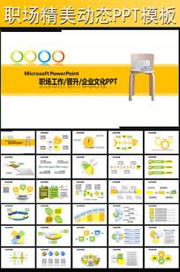企业商务职场项目通用动画PPT模板