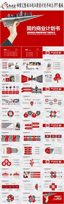 项目融资商业策划创业计划书PPT模板