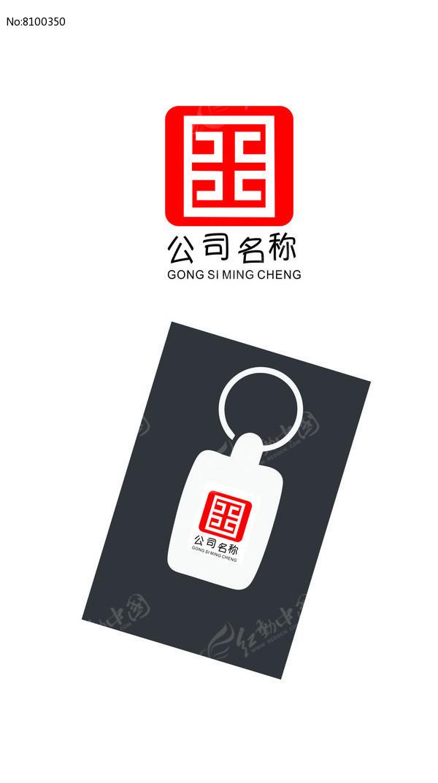 传统元素的标志logo图片