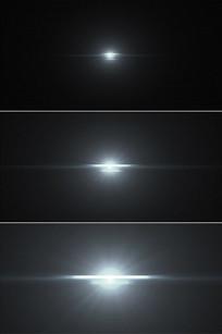 恒星爆炸光线放射光芒白光闪耀视频