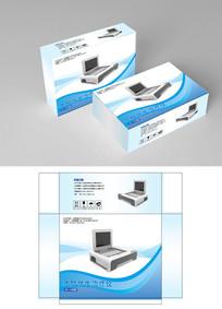 电子仪器美容仪包装设计 AI
