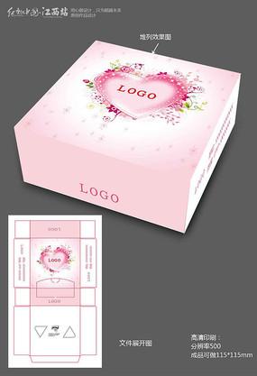 浪漫唯美纸巾盒
