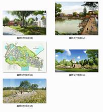 安徽巢湖寺后李村美丽乡村建设概念规划 JPG