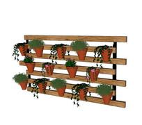 垂吊盆栽植物墙