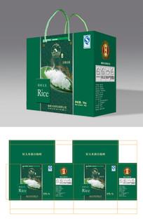 稻花香大米粮食食品包装礼盒