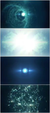 光线粒子电流动感节奏VJ视频 mov