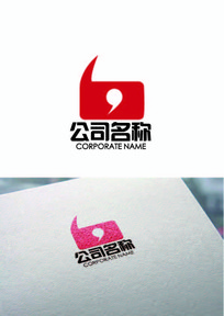 红色大气logo