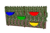 藤蔓植物墙SU模型