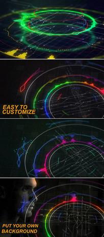 AE音乐可视化工具创建视频模板