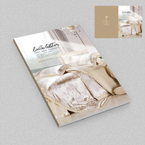 床上用品高档画册封面设计