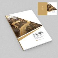 高档家纺床上用品画册封面设计