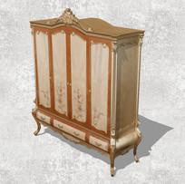 欧式古典衣柜