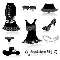 时尚服饰矢量图素材设计