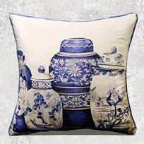中式图案抱枕