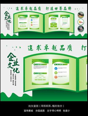 绿色生态公司介绍公司文化墙