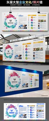 企业文化墙照片墙形像墙展板