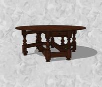 中式风格圆桌
