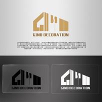 GINO英文建筑LOGO