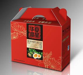 皮蛋鸭蛋包装礼盒展开图