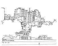 全景大楼住宅景观