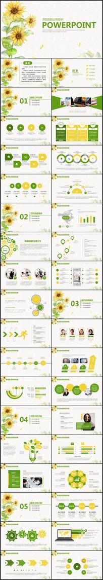 商务商业创业计划书营销策划书PPT
