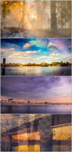4K超唯美美自然城市延时景观视频 mov