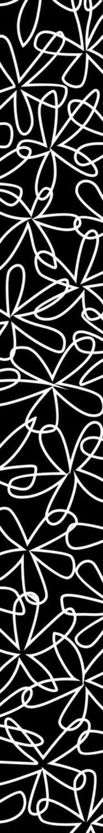 双线花朵雕刻图案