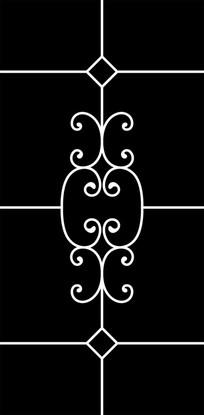 铁艺花纹雕刻图案